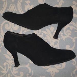 S. Weitzman bootie heels